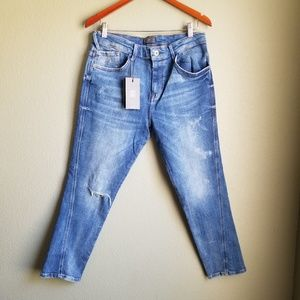 Zara Man Distressed Jeans